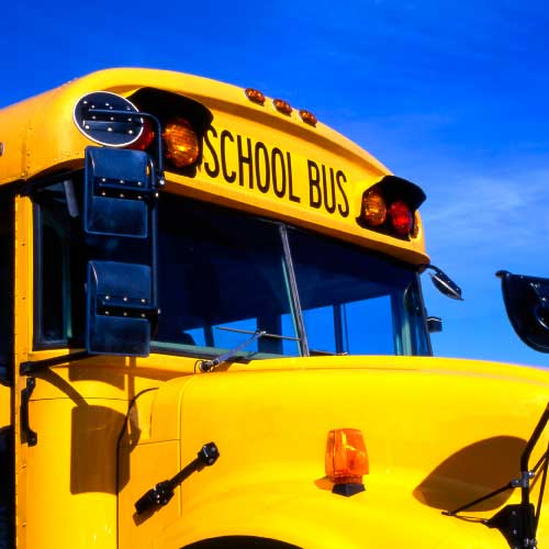 The SchoolBus feature informs to the Parents the real-time location of the bus.